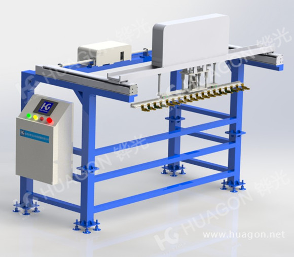 Automatic up and down material manipulator